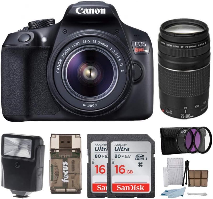 Canon EOS Virginia Beach Mall Rebel T6 New product type Digital Camera: Megapixel HD 1080p D Video 18