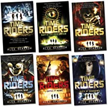 TimeRiders Pack, 6 books, RRP £41.94 (Time Riders; Gates Of Rome; City of Shadows; The Doomsday Code; Day Of The Predator; The Eternal War).