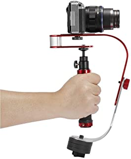 Wondalu PRO Video Camera stabilizer for GoPro, Smartphone, Canon, Nikon - or Any Camera up to 2.1 lbs