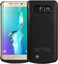 Idealforce Samsung Galaxy S6 Edge Plus Battery Case,4200mAh External Power Bank Cover Portable Charger Protective Charging Case for Samsung Galaxy S6 Edge+ (Black)