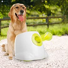 All for Paws Interactive Automatic Dog Ball Launcher, Dog Ball Throwing Toy Includes 3 Tennis Balls