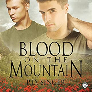 Blood on the Mountain audiobook cover art