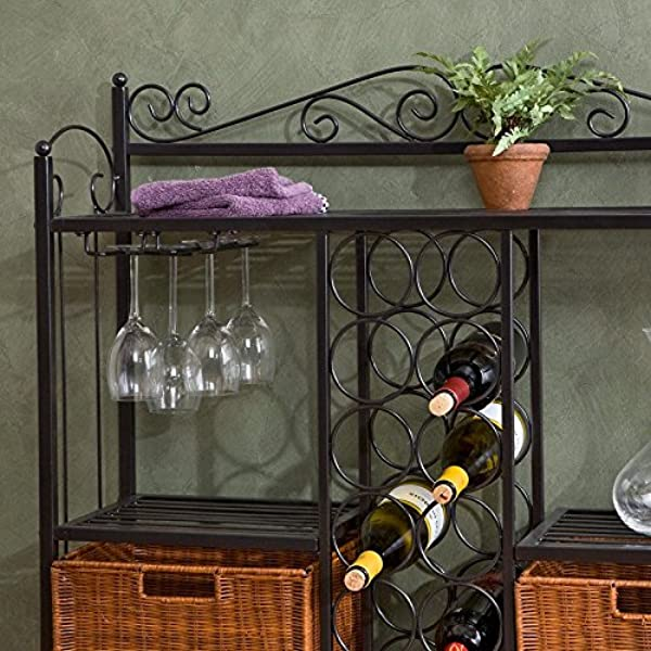 Celtic Bistro Bar Room Wine Rack