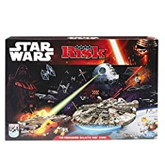 TIE fighter gameboard features 3 theaters of combat 2 ways to play: 2 players or 2 teams Players choose to play as the light or dark side Features iconic Star Wars vehicles including the Millennium Falcon Includes 3 gameboard pieces, 20 X-wing fighte...