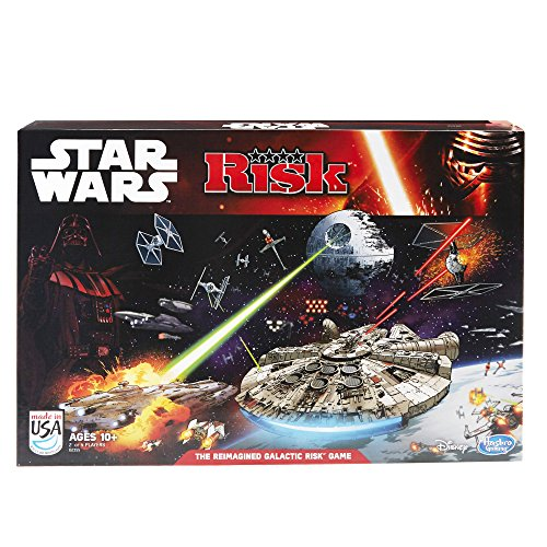Star Wars – Risk: Star Wars Edition Game – Risiko – Strategiespiel (Englische Edition)