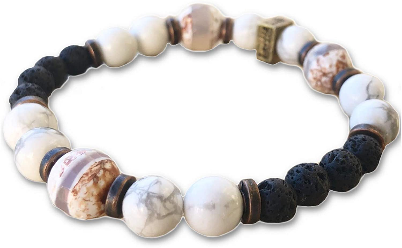 LavHa Essential Oil Aromatherapy Bracelet Las Vegas Max 46% OFF Mall Stone Natural