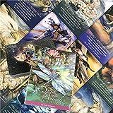 GUOHAPPY The Spirit of The Animals Oracle Cards: Set di Carte Previsioni del Destino,Set di Carte da Gioco Universal Vintage Divination Future Telling, per Divinazione/Viaggio/Festa