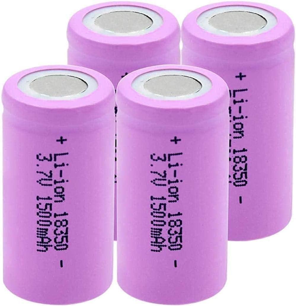 OFFicial store Pre-Charged Bargain Rechargeable Batteries3.7V 1500Mah 18350 De Batería