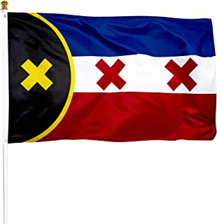XIFAN Premium Flag for Lmanburg Flag Dream SMP 3x5 Ft Heavyweight 2X Thick 150D Polyester L'Manberg Flag Indoor Outdoor Ba...