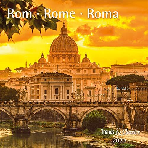 Rom Rome 2020 - Broschürenkalender - Wandkalender - mit herausnehmbarem Poster - Format 30 x 30 cm