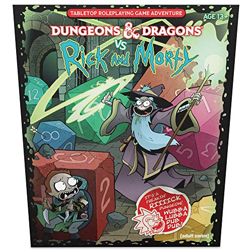 D&D RPG RICK & MORTY TABLETOP RPG