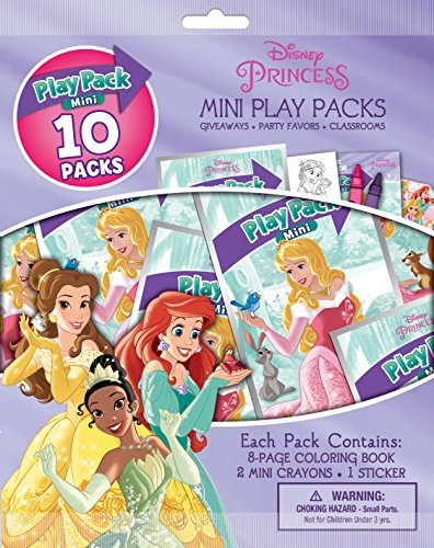 Disney Princess Bendon Mini Play Packs