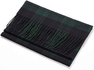 くーる&ほっと 日本製(群馬県桐生市製)ユニセックス 英国の伝統的デザイン タータンチェック マフラー