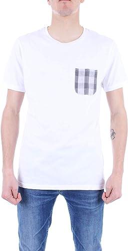 IMPURE Homme TSS1073blanc Blanc Coton T-Shirt