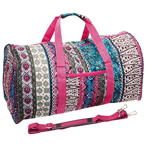 "World Traveler 22"" Duffle Bag, Bohemian, One Size"