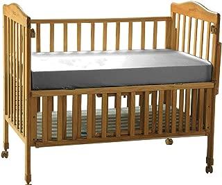 THXSILK Pure Silk Fitted Crib Sheet, Organic Crib Bedding-Ultra Soft, Smooth, 100% Top Grade Mulberry Silk, 28