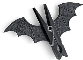 SUCK UK Spooky Bat Pegs, Black