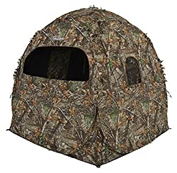 cheap Ameristep Doghouse Ground Blind, Blind Hunt at Realtree Edge Camo