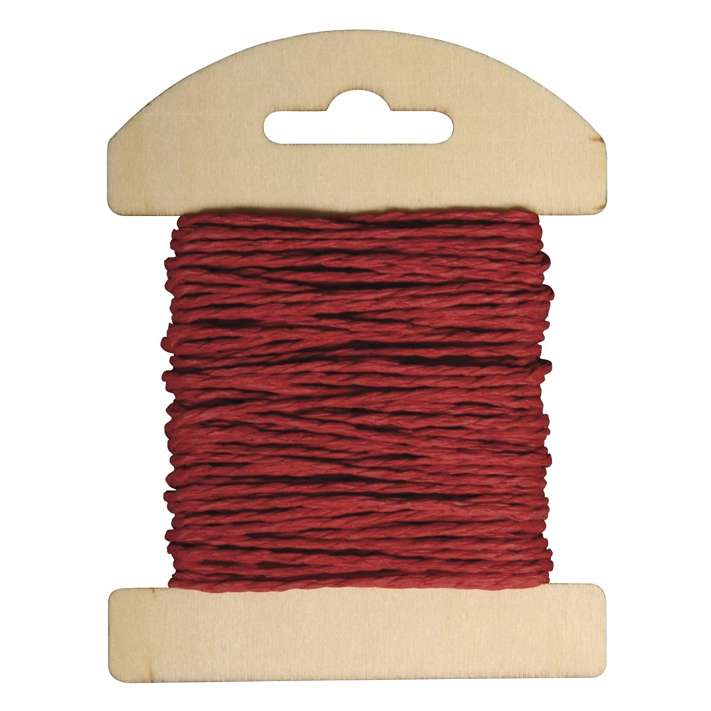 RAYHER 55352288?1.2?mm ? ?,/Wood Card Paper Cord, 10?m, Ziegelrot