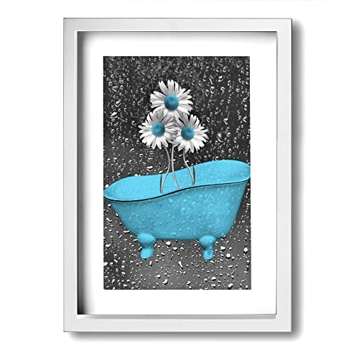 Bathroom Wall Art Uk Amazon: Bathroom Frames Decor: Amazon.com