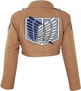 Women's Attack on Titan Survey Corps TV Jacket Cosplay Costume
