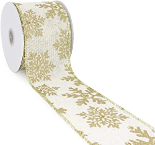 50 yards wired ribbon