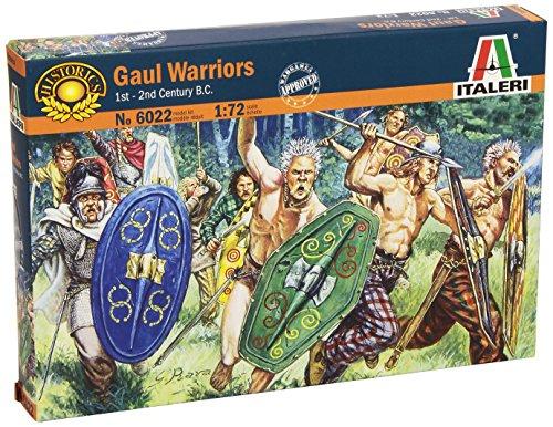 Italeri 6022 - Gauls Warriors Scala 1:72
