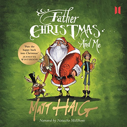 Father Christmas and Me audiobook cover art