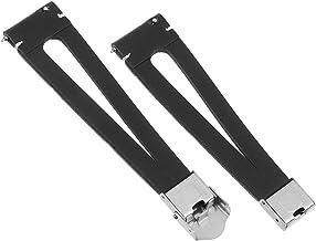Hemobllo Leather Band Watch Strap Replacement Watch Strap Bracelet for Men Women Black