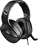 Turtle Beach Recon 200 Black Amplified Gaming Headset - PS4, PS5, Xbox One, Nintendo Switch & PC