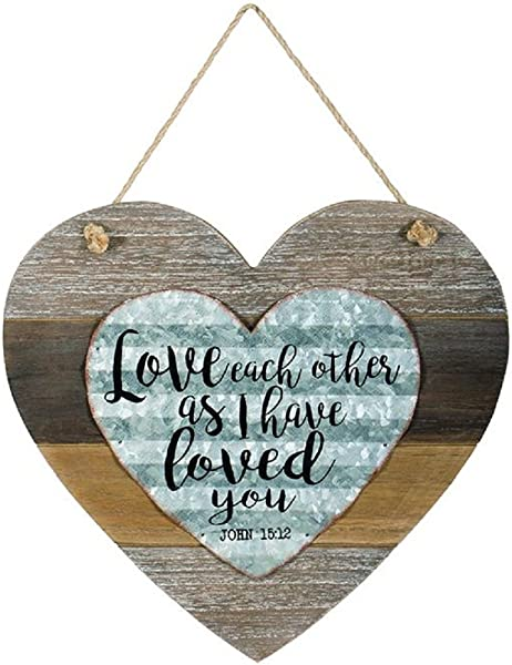 Carson Love Each Other Rustic Treasures Wall Home Decor