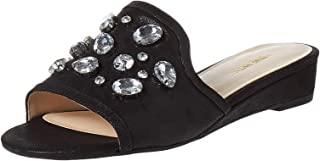 Ninewest Sandals For Women, 38.5 EU, Black