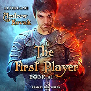 The First Player     AlterGame Series, Book 1               By:                                                                                                                                 Andrew Novak                               Narrated by:                                                                                                                                 Troy Duran                      Length: 11 hrs and 12 mins     21 ratings     Overall 4.3