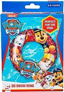 Paw patrol Nickelodeon - Anillo de natación Inflable al Aire Libre, flotadores de Piscina, Juguete de Playa para niños, Multicolor