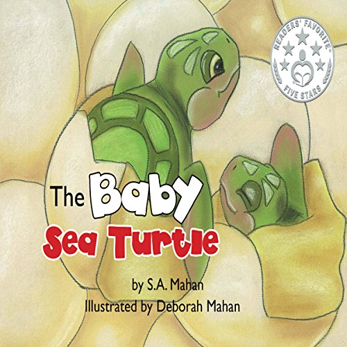 The Baby Sea Turtle audiobook cover art
