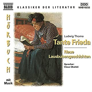 Tante Frieda - Neue Lausbubengeschichten Titelbild