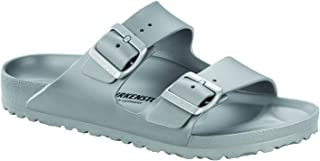 Unisex Arizona Essentials EVA Metallic Silver Sandals - 40 Narrow EU