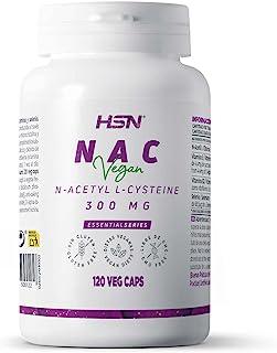 HSN NAC   300 mg   N-Acetyl-L-Cysteine   Verhoogt het Glutathion niveau + Hoog Anti-oxidant vermogen + Versterkt uw afweer...