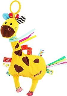 LuDa Crib Stroller Baby Cot Buggy Pram Hanging Rattles Dangle Plush Toy - Giraffe, as described