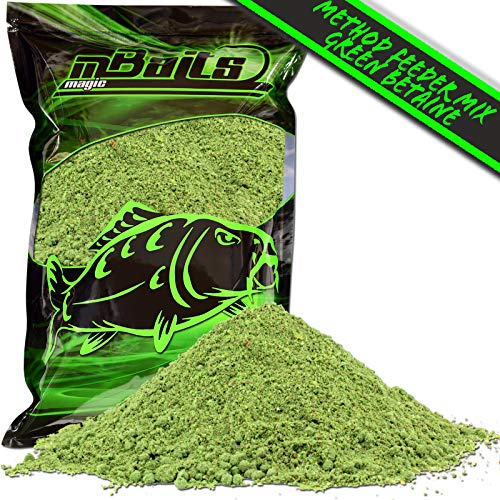 Angel-Berger Magic Baits Method Feeder Mix 1Kg Angelfutter (Green Betaine, 1 Kg)