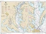MapHouse NOAA Chart 12280 Chesapeake Bay: 33.44' X 45.83' Paper Chart