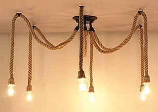 Best heads loft american vintage industrial ceiling light fixtures Reviews