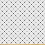 ABAKUHAUS Geometrisch Microfaser Stoff als Meterware,