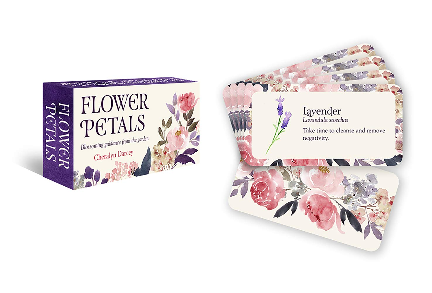 FLOWER PETALS INSPIRATION CARD
