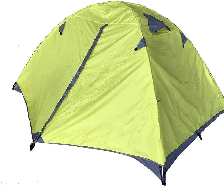 muchas sorpresas GW Cúpula Doble para Camping, Tela Impermeable, Marco Marco Marco de Aluminio, fácil de Instalar para la Pesca de Camping,amarillo,Aluminumrod  exclusivo