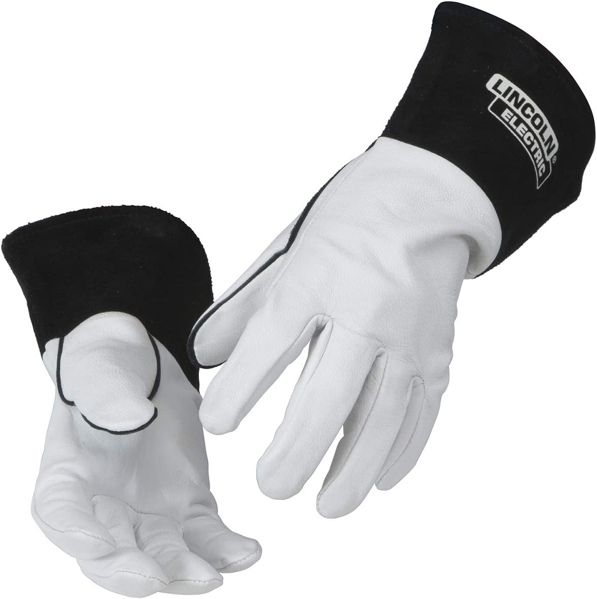 Lincoln Electric Grain Leather TIG Recommended Long Beach Mall High Gloves Welding Dexteri