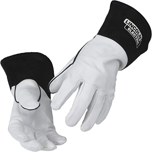 2021 Lincoln Electric Grain Leather TIG new arrival Welding Gloves | High outlet online sale Dexterity | Large | K2981-L online