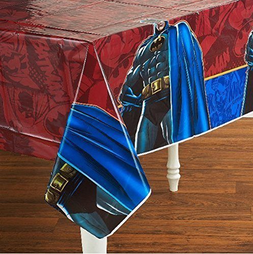 Batman Heroes and Villains Plastic Table Cover