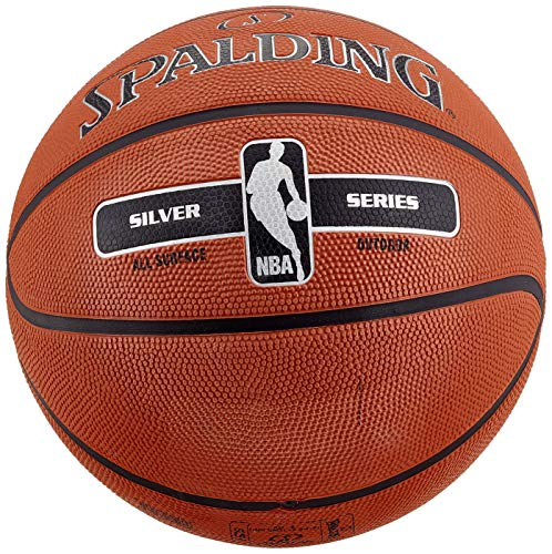 Spalding Unisex Adult 83568Z_5 Basketball Orange, 5