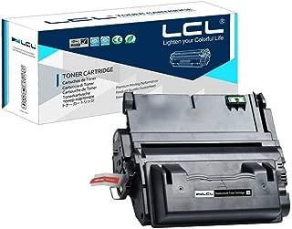 Compatible Toner Cartridge Replacement for 42A 42X Q5942A Q5942X Q1339A Q5945A 20000 Page 4200 4300 4250 4350 4345 (1-Pack Black)